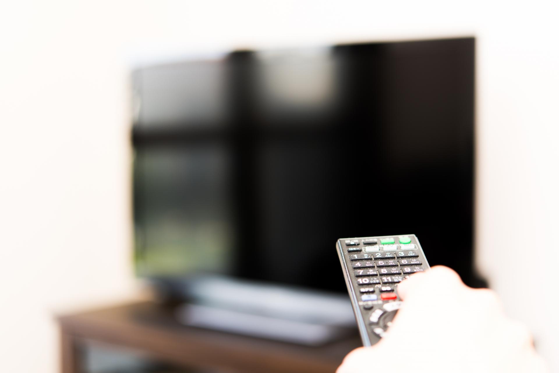 テレビから離れて