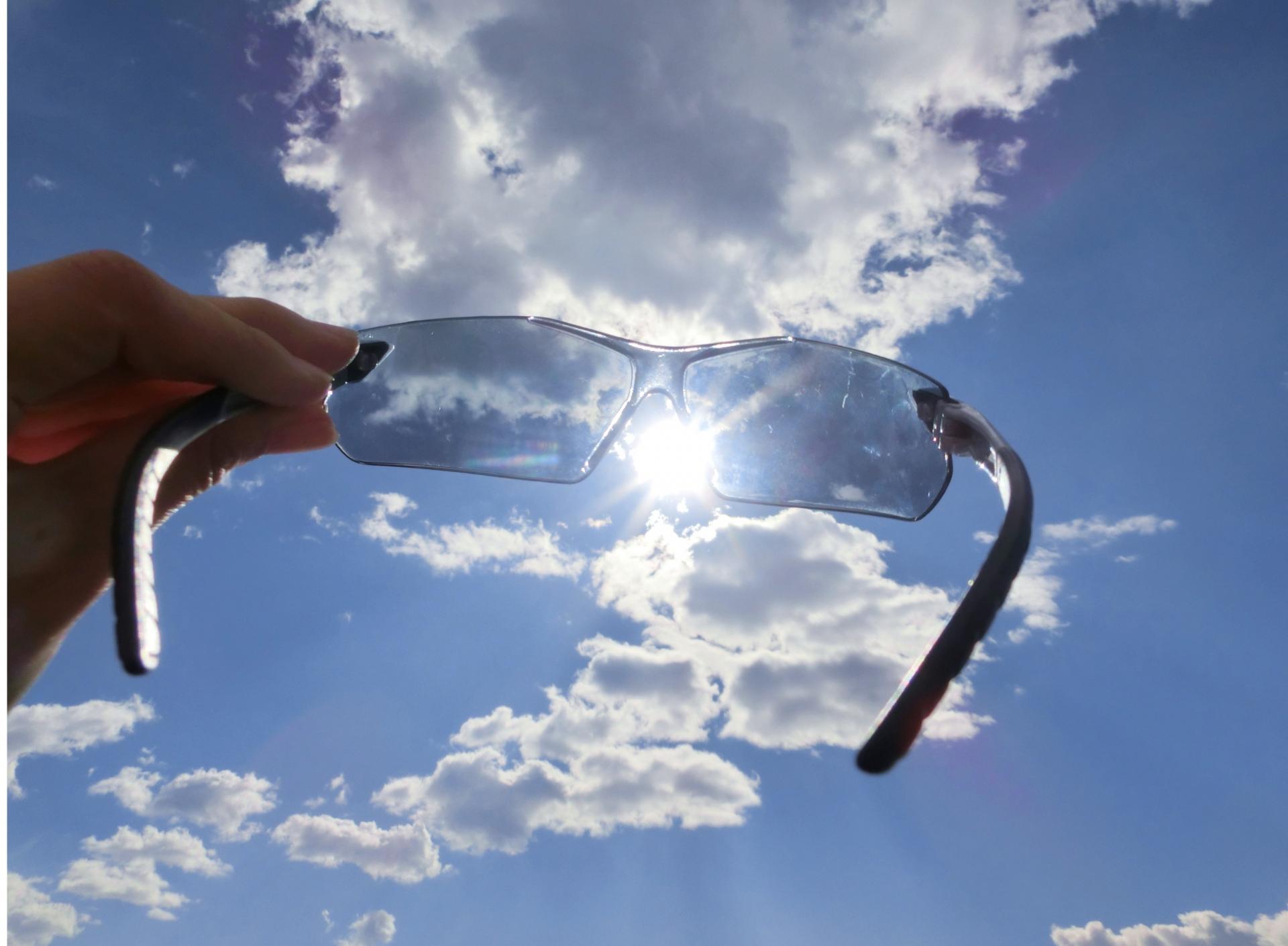 紫外線とサングラス