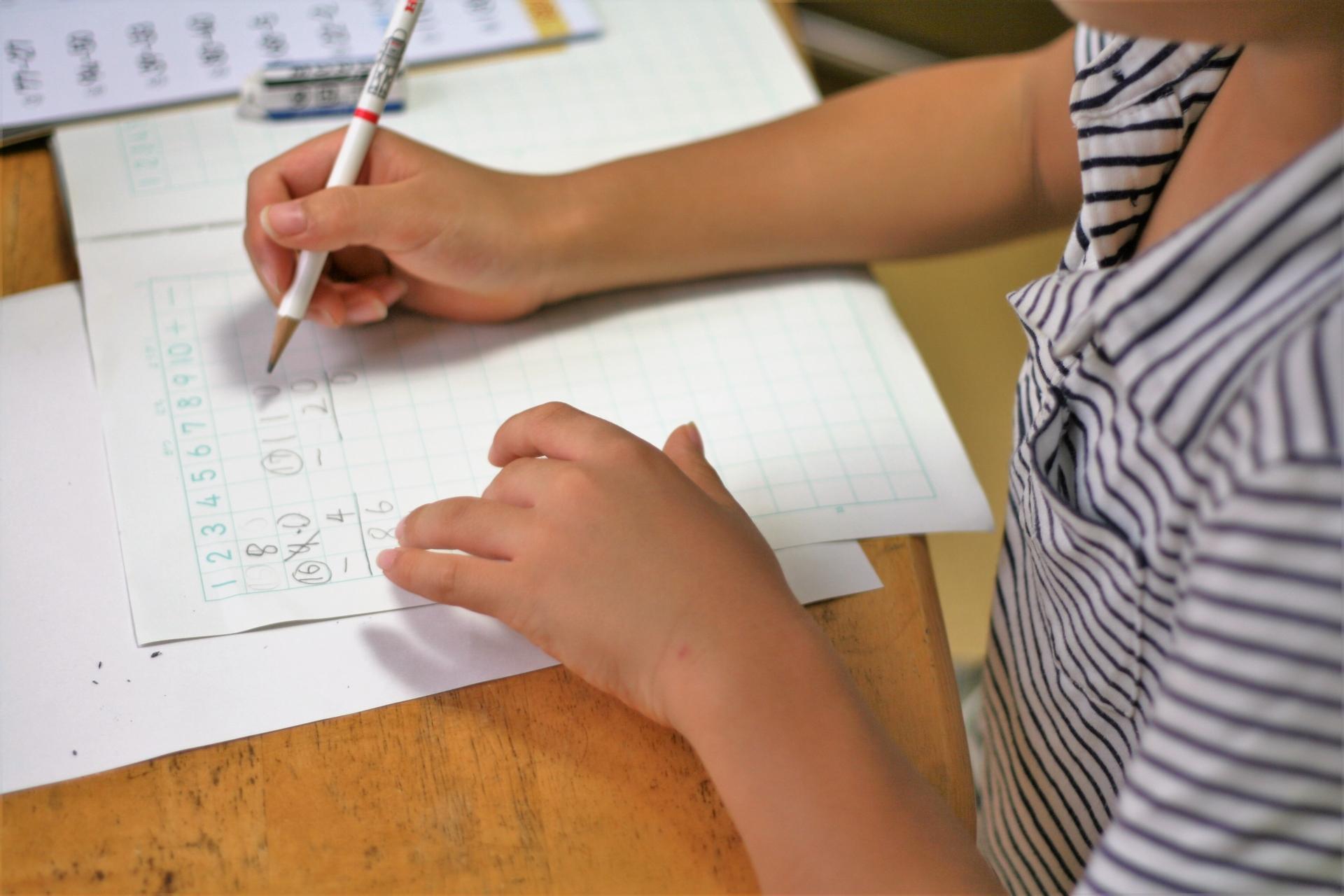 鉛筆の正しい使い方